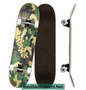 Yocaher Blank Complete Skateboard
